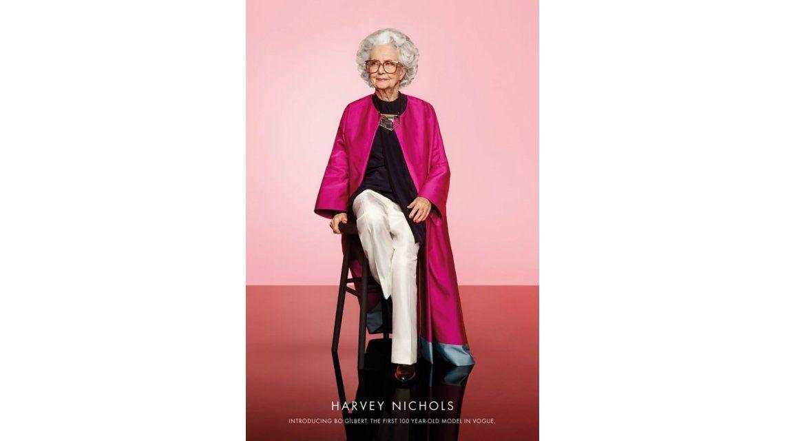 Vogue festeja su centenario con una modelo de 100 años