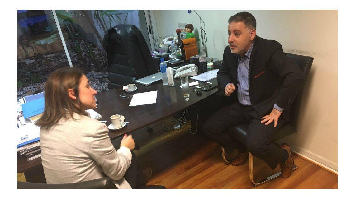 Fernanda Iglesias reveló los detalles de su reunión con Fabián Doman