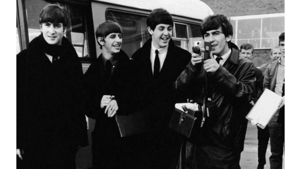 Difunden imágenes inéditas de Los Beatles grabadas en Súper 8