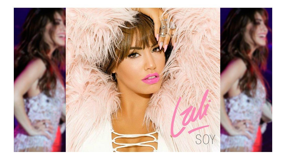 Lali Espósito develó la tapa de su segundo álbum