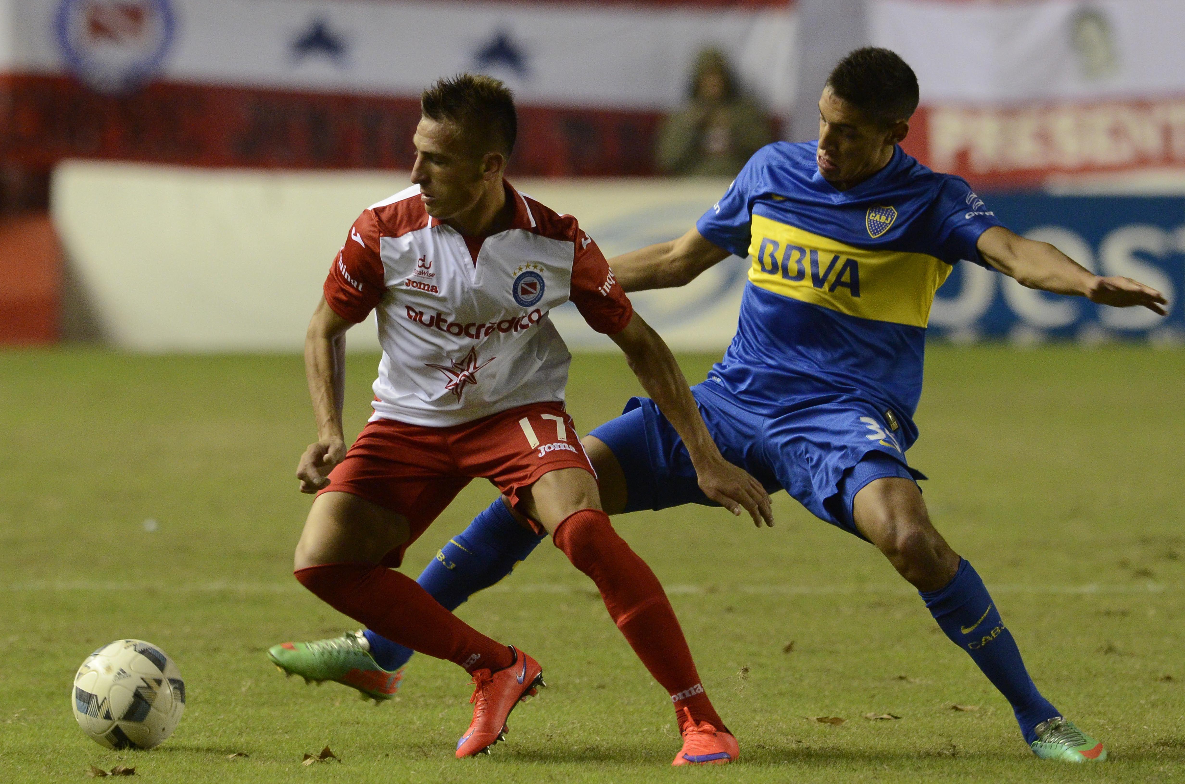 Las fotos de la derrota de Boca ante Argentinos