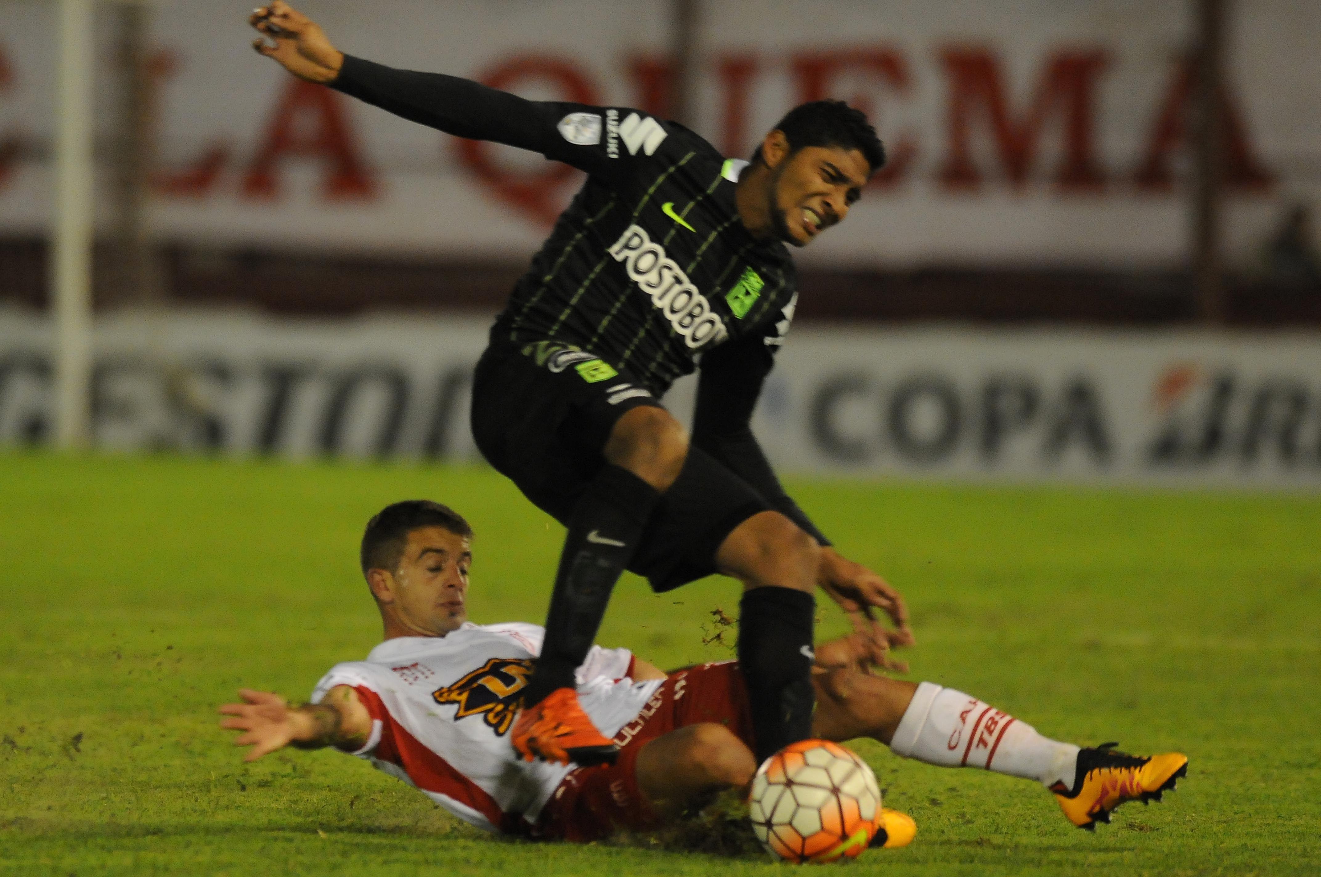Las fotos del empate entre Huracán y Nacional de Medellín