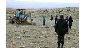 Marijuan siguió con los allanamientos y excavaron en estancias de Lázaro Báez