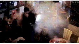 VIDEO:Así se inmoló uno de los terroristas de los ataques en París
