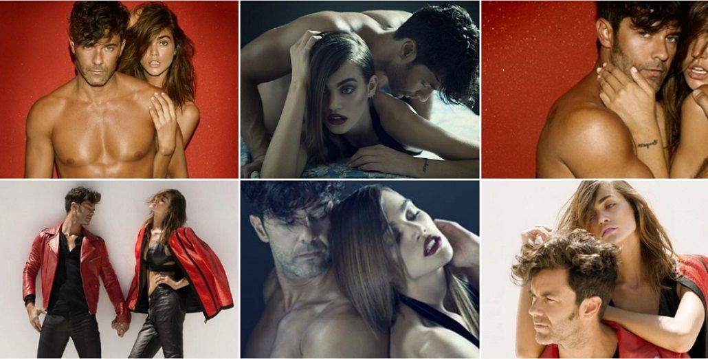 Nueva campaña de Mariano Martínez con una modelo internacional
