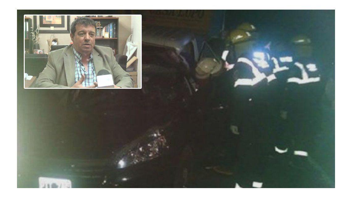 Un diputado de Cambiemos murió en un choque en Córdoba