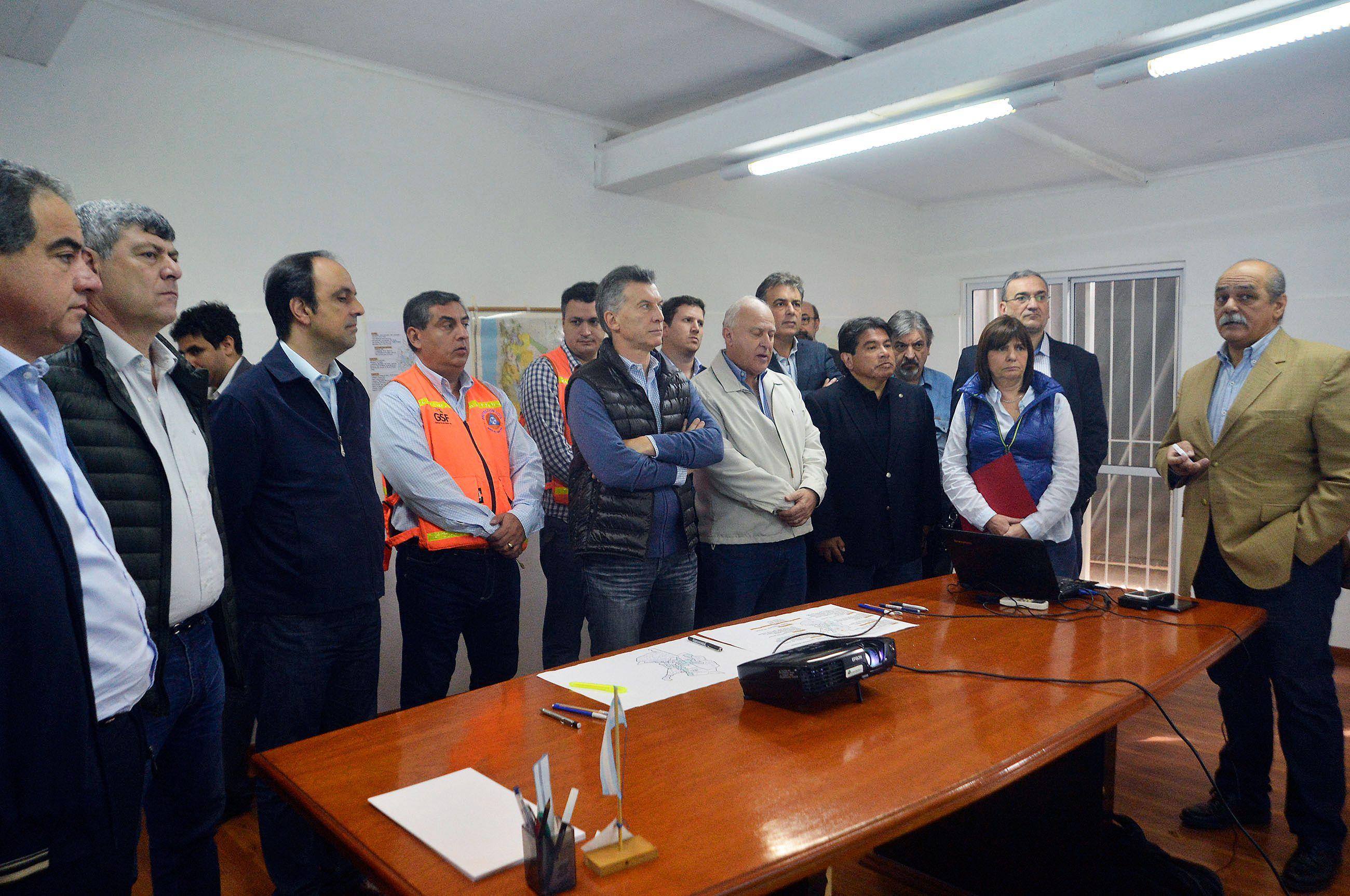 Macri se solidarizó con las víctimas de las inundaciones:Su dolor es mi dolor