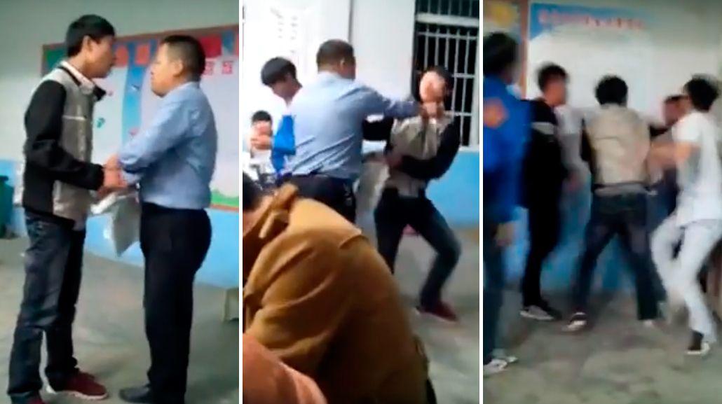 Pelea en plena aula: maltrató a un alumno y toda la clase se vengó