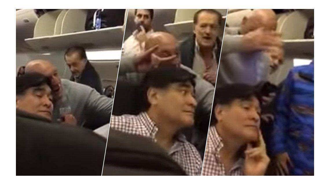 La insólita defensa del hombre que escrachó a Zannini en un avión