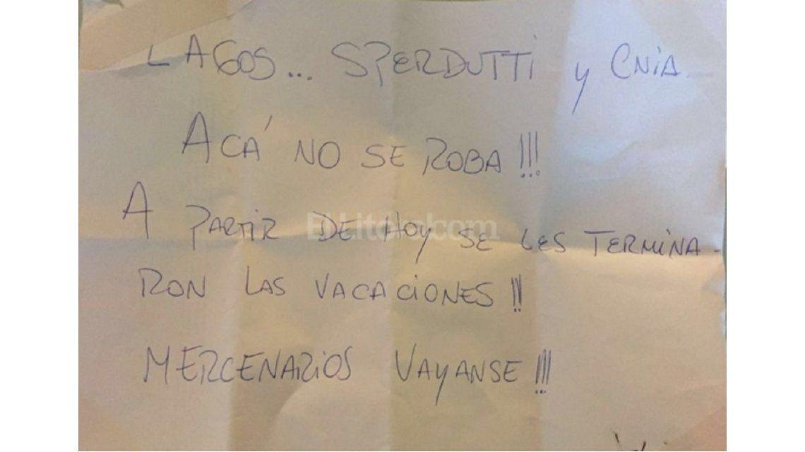 Se les terminaron las vacaciones: dura amenaza a jugadores de Colón
