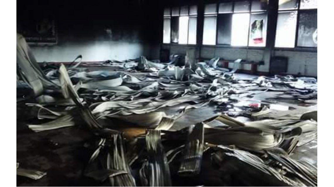 Ensenada: se incendió una escuela y sospechan que fue intencional