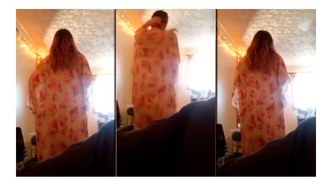 VIDEO: Filmó a su novia cuando le cantaba por primera vez y se volvió viral