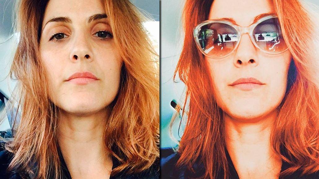 El nuevo look de Julieta Díaz en su regreso a la televisión: de morocha a colorada