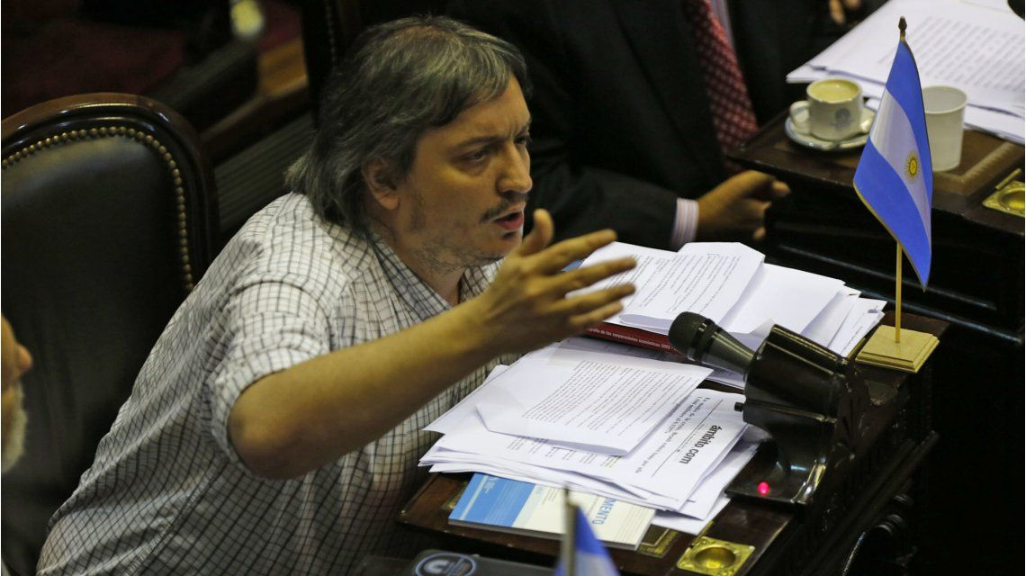 Máximo Kirchner: Cambiemos necesita 12 puntos de desocupación para ser exitoso