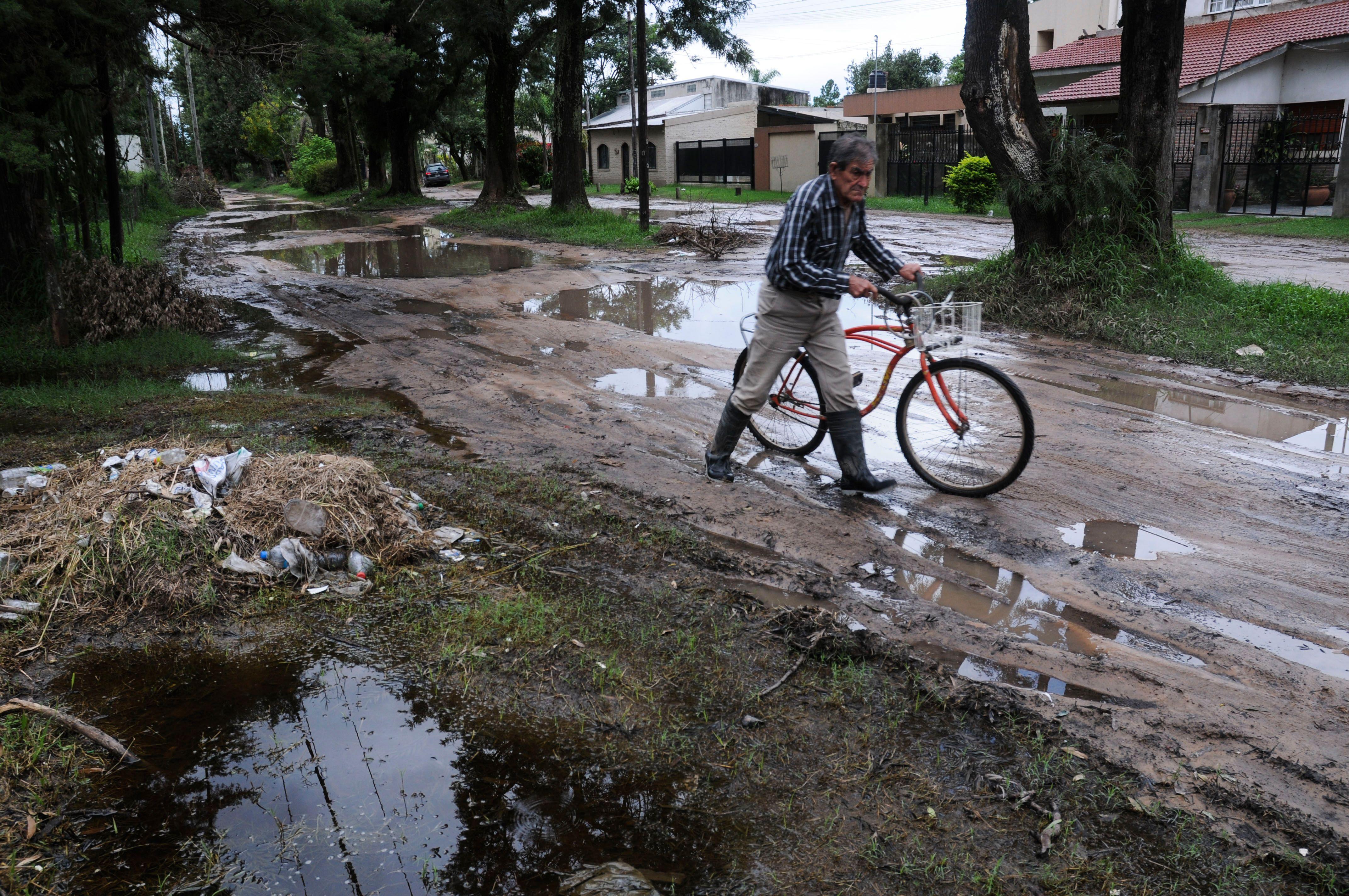 Las lluvias no dan respiro al Litoral, que sigue bajo agua