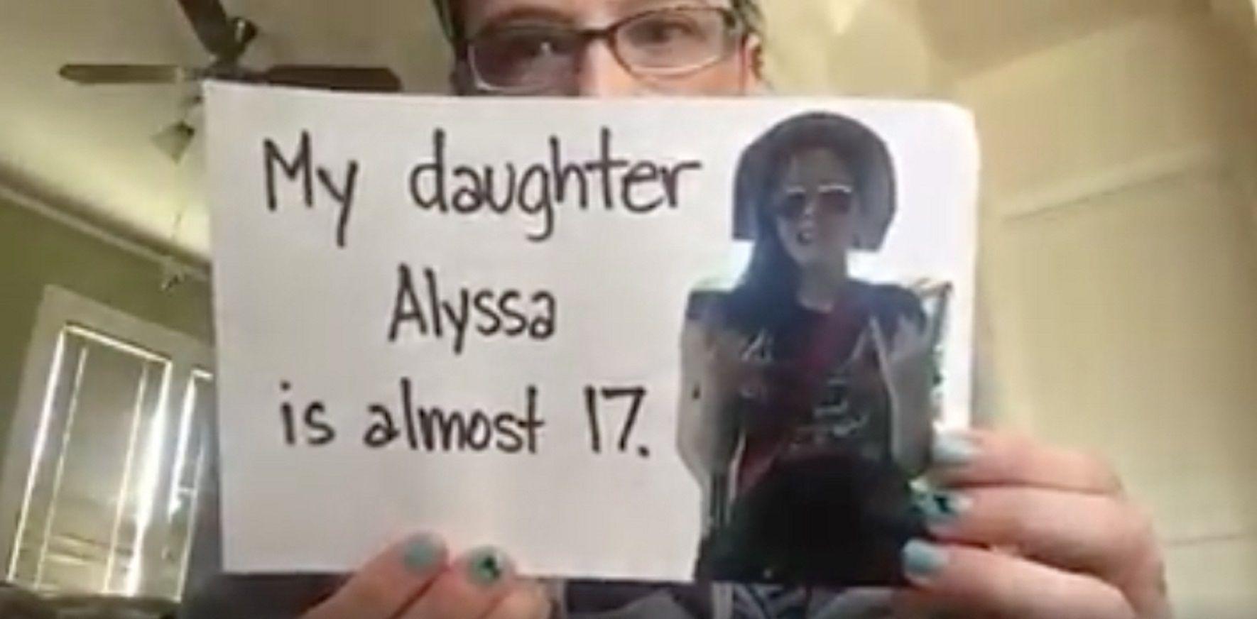 Descubrió que su pareja era un pedófilo y grabó un impactante mensaje
