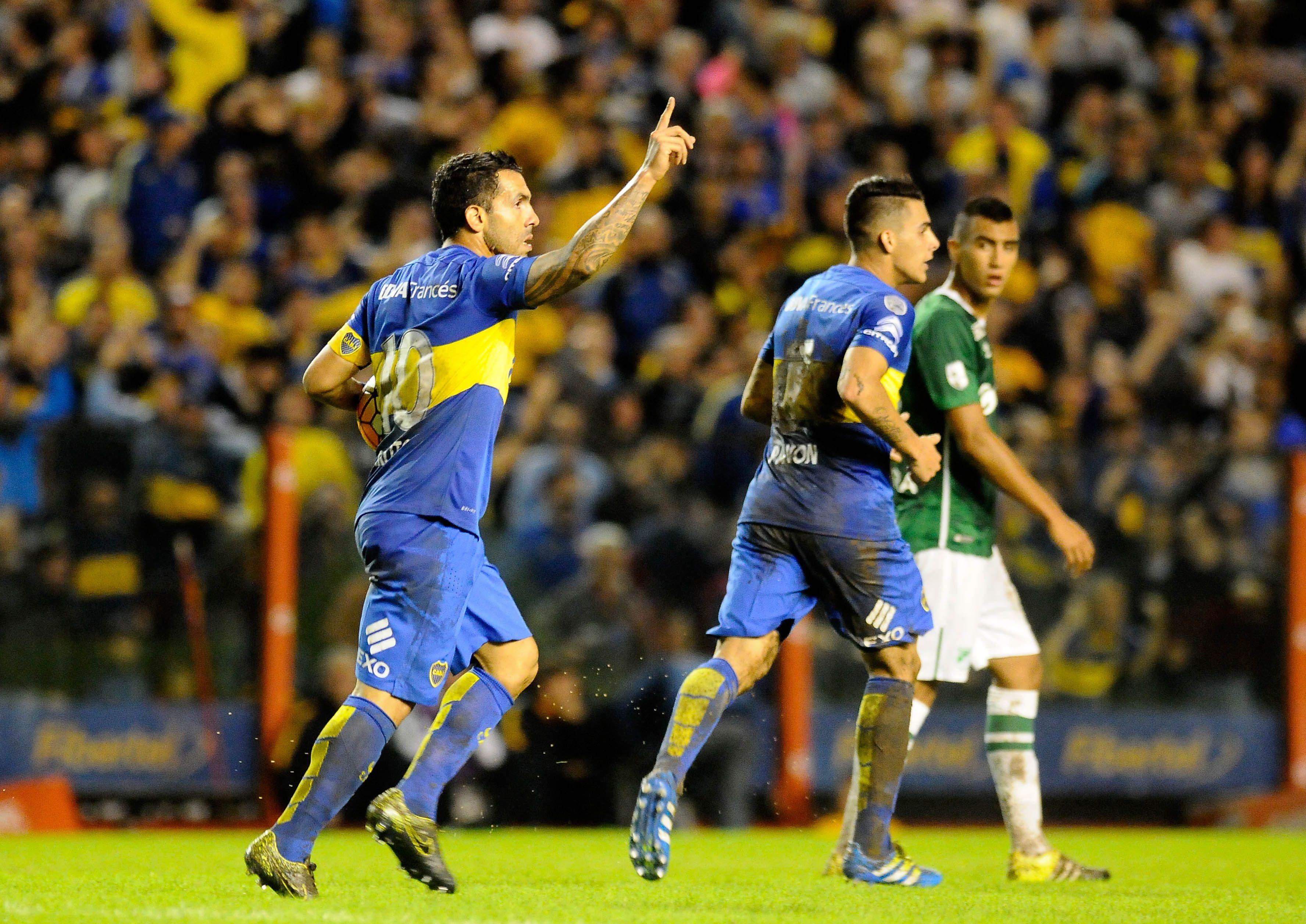 Las fotos del triunfo de Boca ante Deportivo Cali