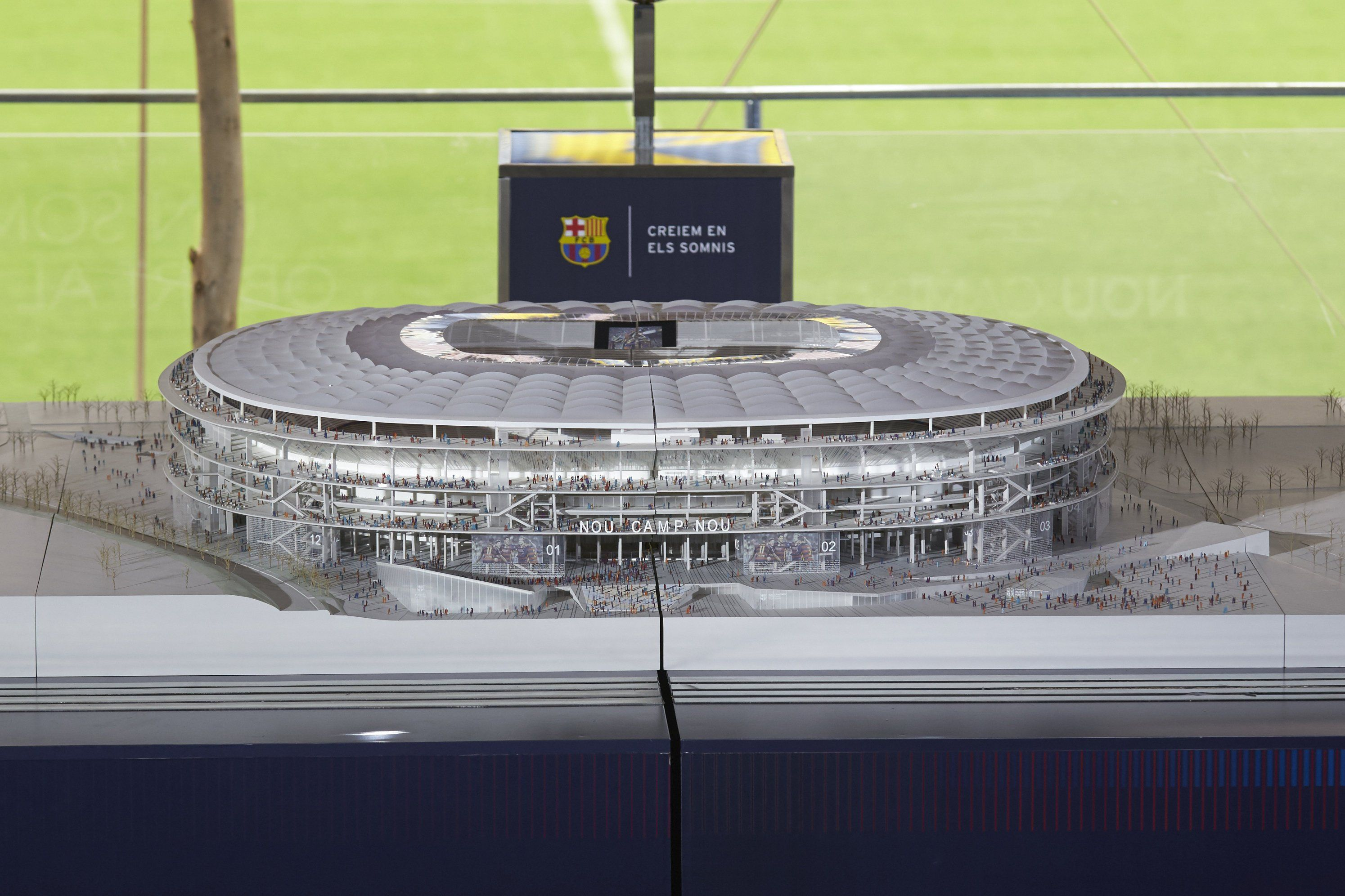 Imponente: así será el nuevo estadio que tendrá el Barcelona