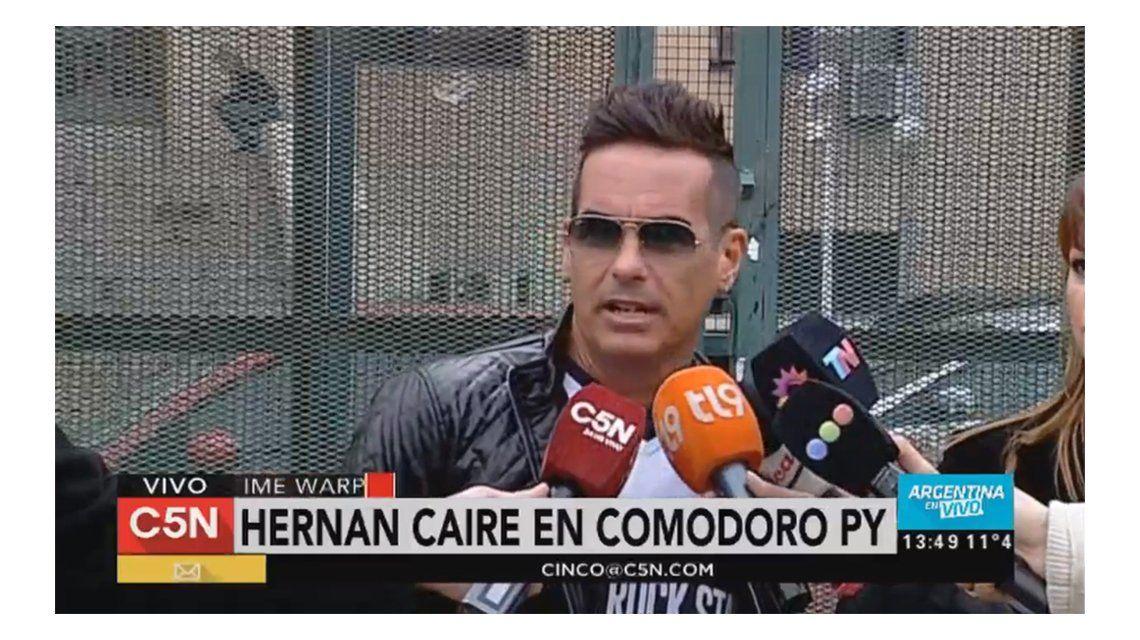 Hernán Caire dijo que tampoco vio drogas en la Time Warp
