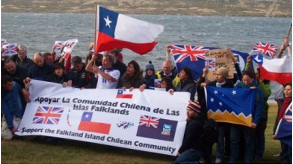 Polémica: Chile consideró a las Islas Malvinas como territorio británico