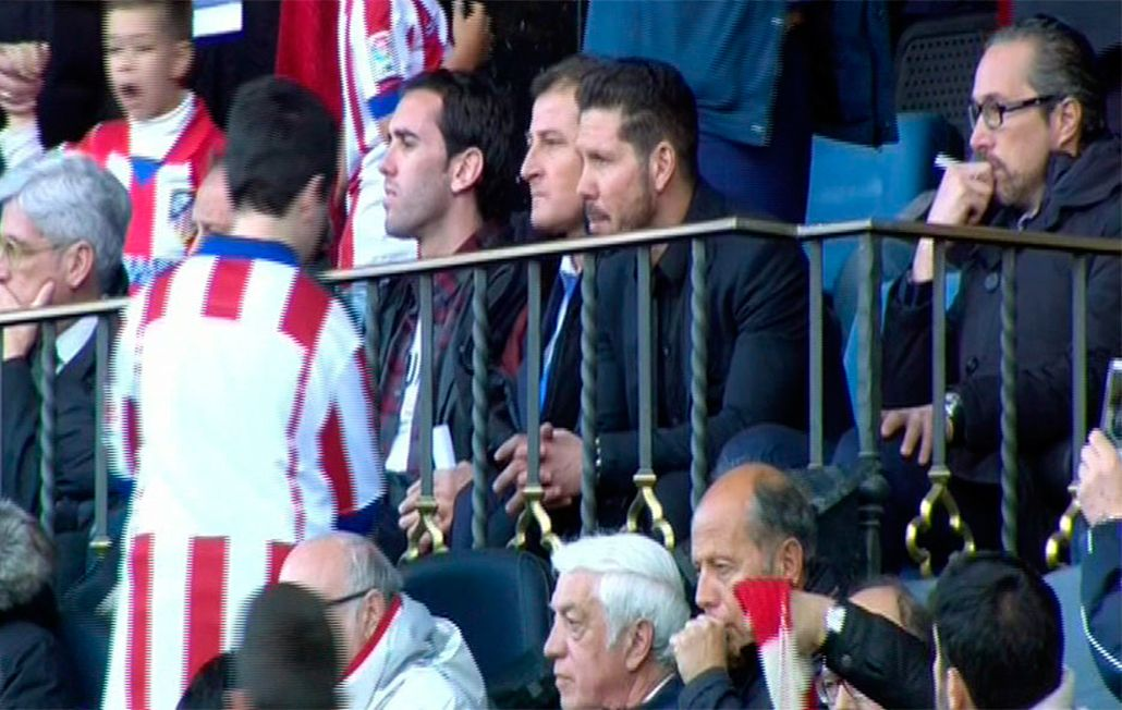 ¿Bilardista? La actitud antideportiva de Simeone en el triunfo del Atlético Madrid