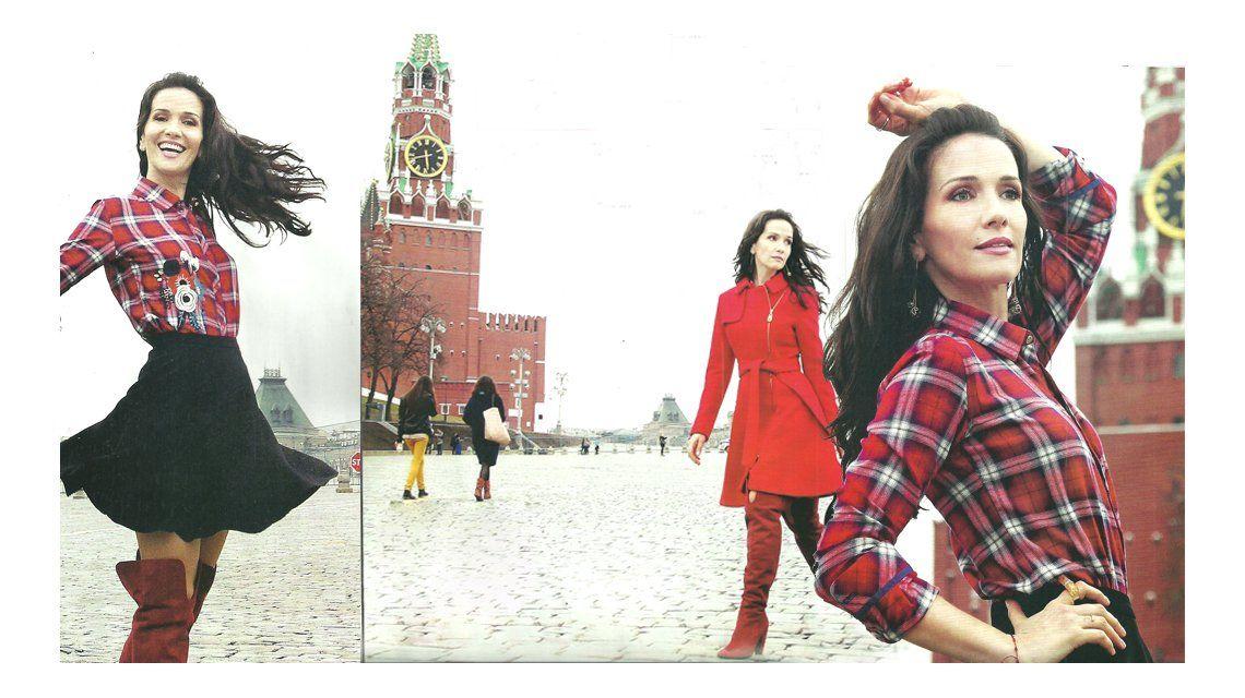 El viaje de Natalia Oreiro: Perdí la cuenta de mis visitas a Rusia, pero deben ser más de 15