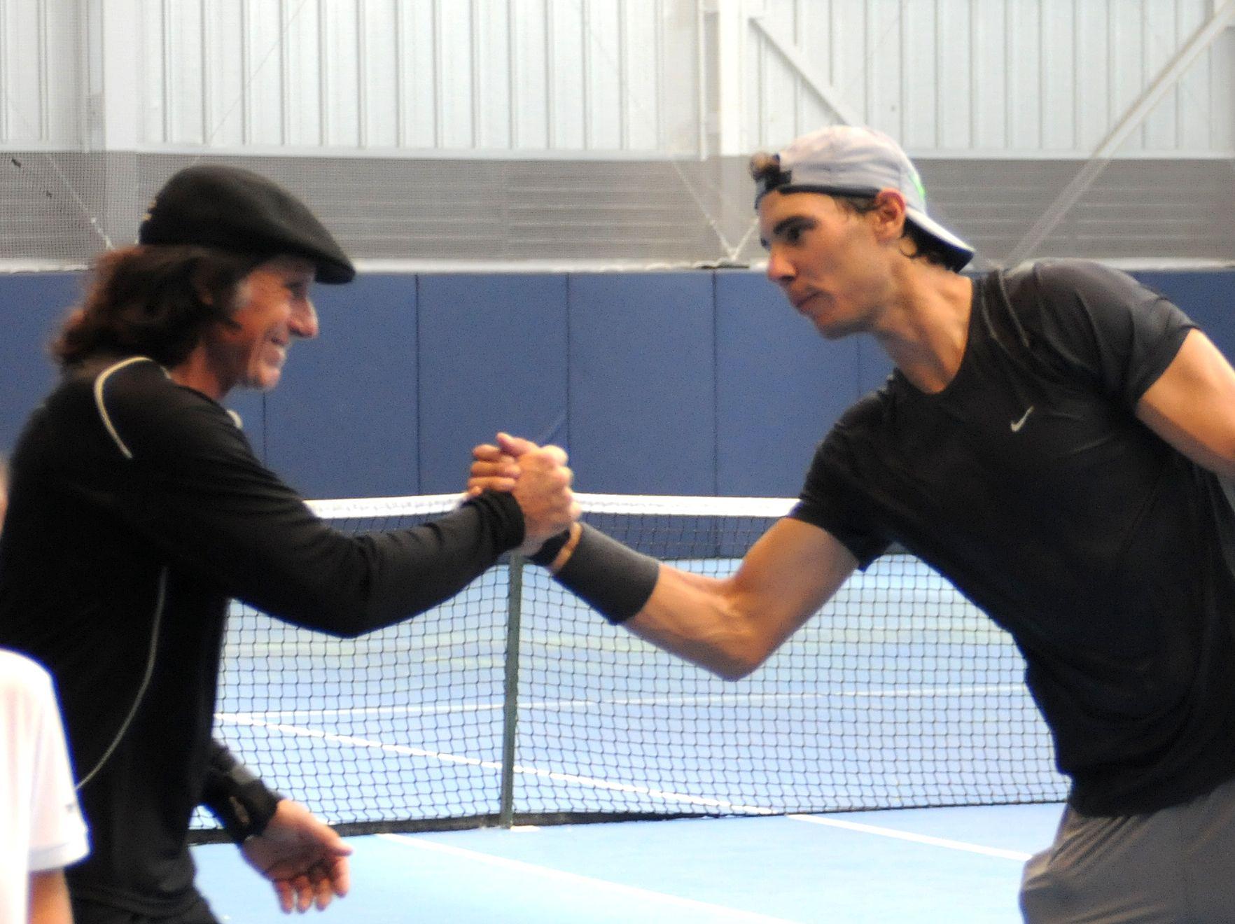 Guillermo Vilas se quedó sin récord, pero igual felicitó a Rafa Nadal