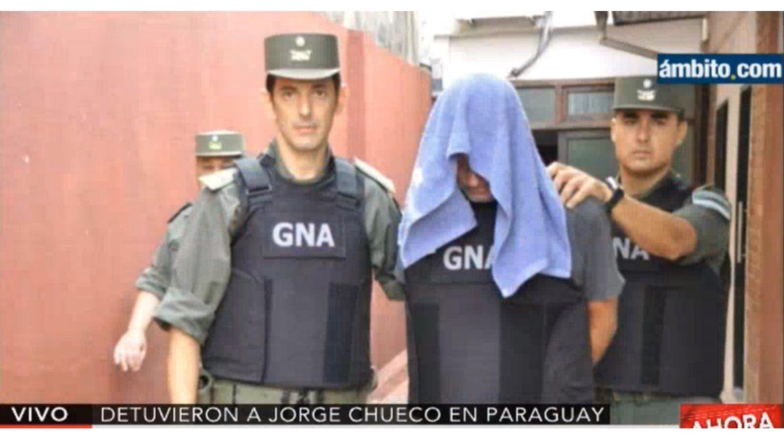 Chueco llegó a Buenos Aires: deberá realizarse estudios médicos antes de declarar