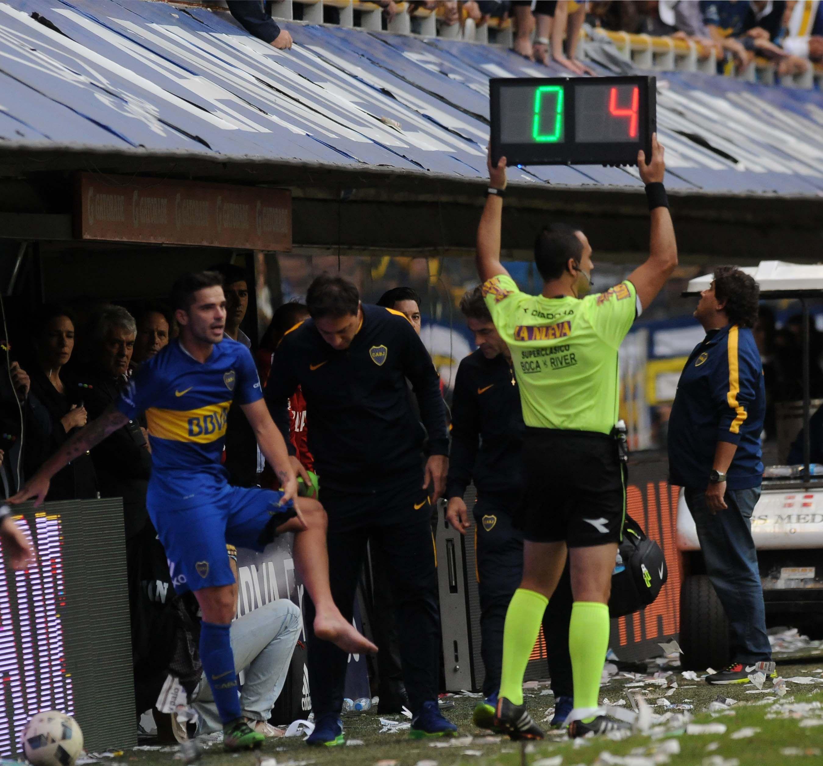 Tras la lesión de Gago, en Boca ya piensan su posible reemplazante
