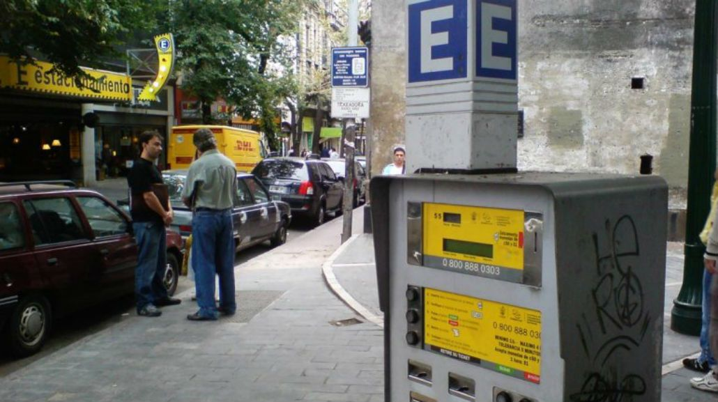 Los parquímetros de la Ciudad se podrán pagar sólo con SUBE
