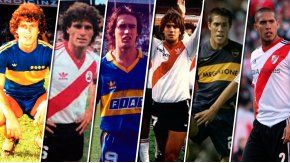 Ruggeri, Batistuta y Maidana jugaron para Boca y River