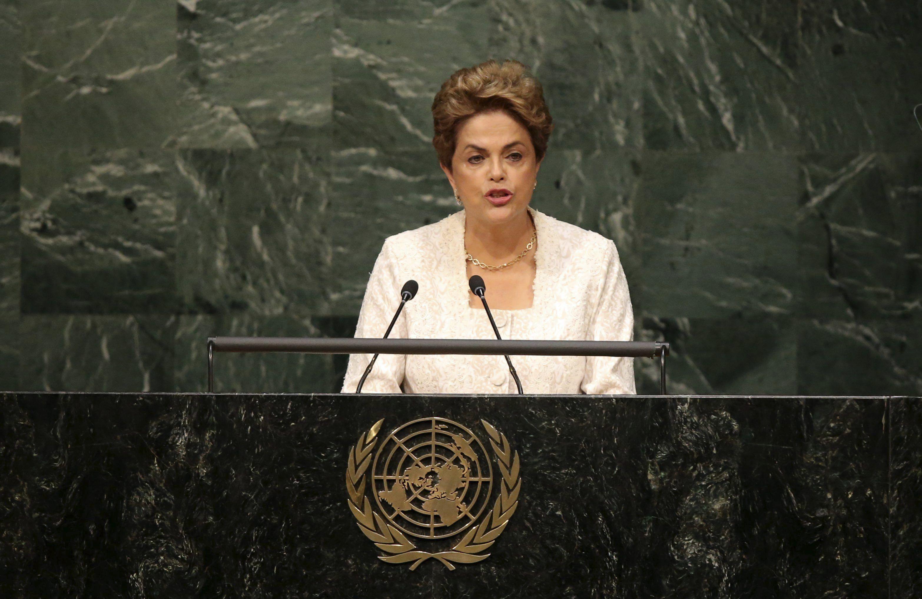 Ante la ONU, Dilma afirmó que Brasil impedirá cualquier retroceso democrático