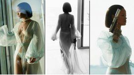 Las fotos hot de Rihanna: desnuda, con un arma y marihuana