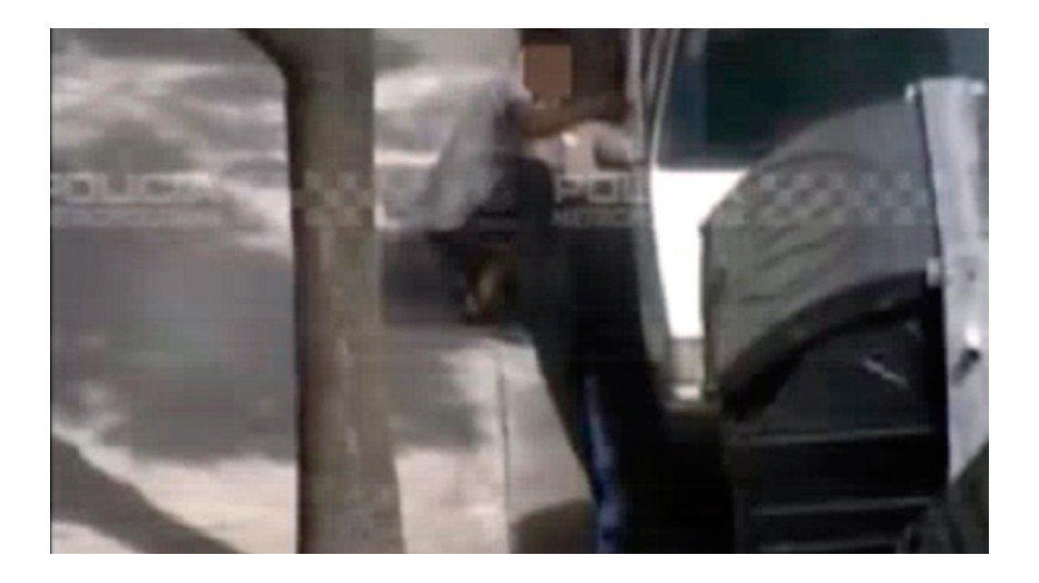 VIDEO: Espectacular persecución a un auto robado en Constitución