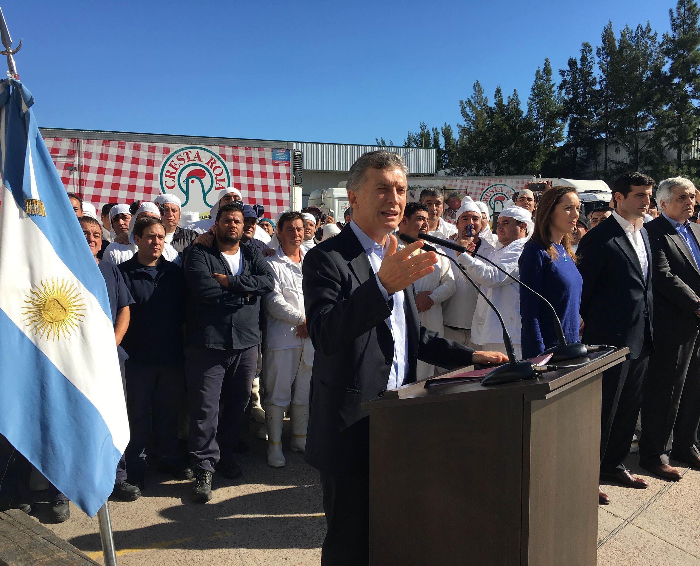 Enfático rechazo de Macri a la ley antidespidos