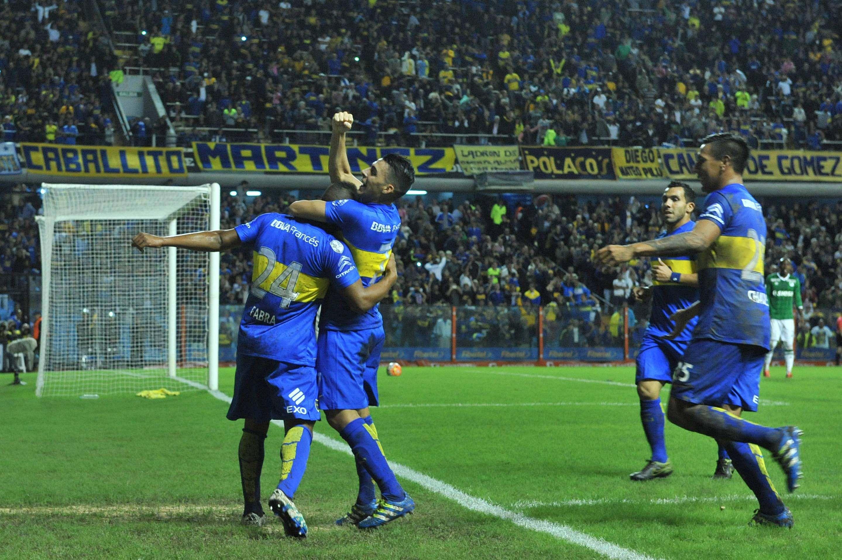 Boca goleó a Deportivo Cali y se aseguró el primer puesto del grupo 3