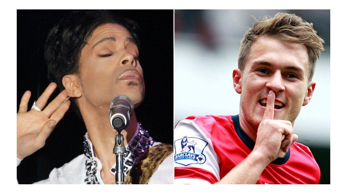 Murió Prince y en Twitter apuntan a Ramsey a pesar de que no convirtió