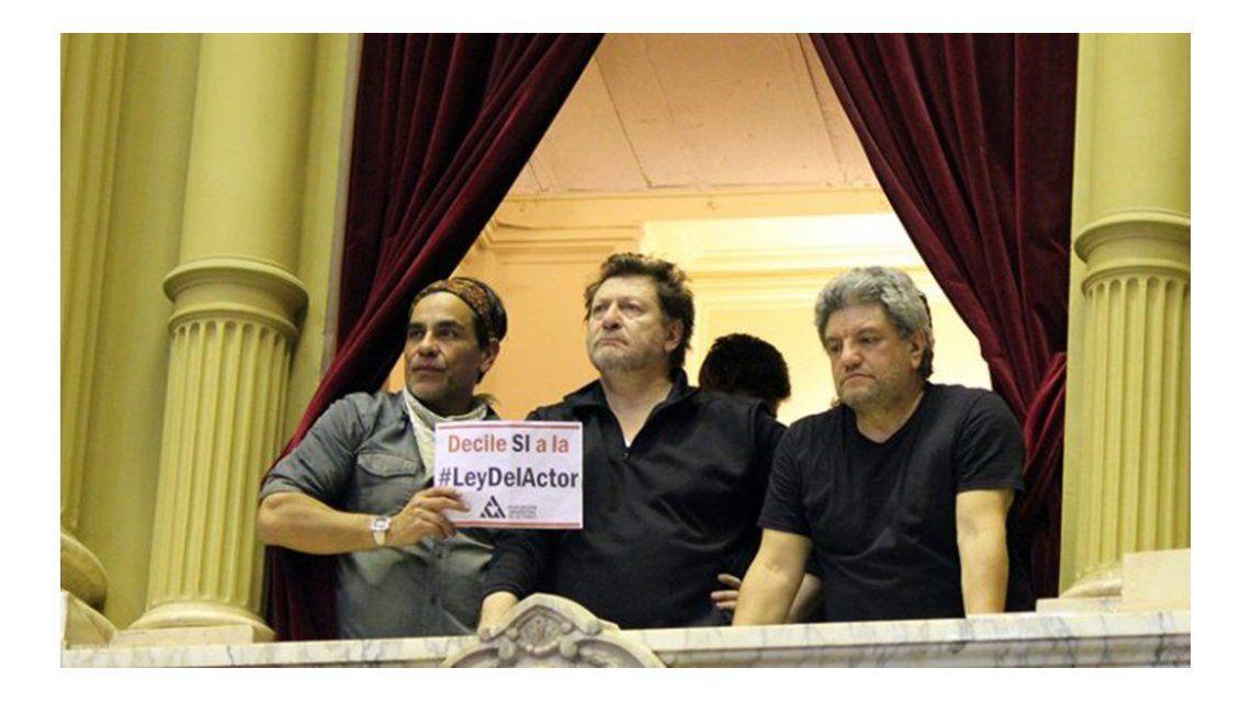 La Asociación Argentina de Actores reclama la reglamentación de la Ley del Actor