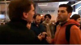 Lopérfido fue escrachado en el BAFICI y tildó de fascista a otra persona