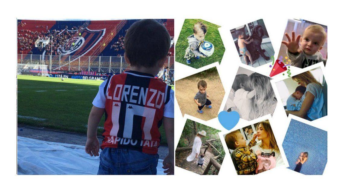Emotivos mensajes de Tinelli y Valdes por el cumpleaños de Lorenzo