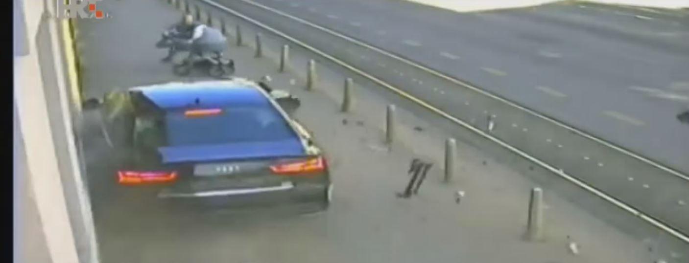 VIDEO: Mirá lo que hace el padre para salvar a su bebé de un conductor borracho