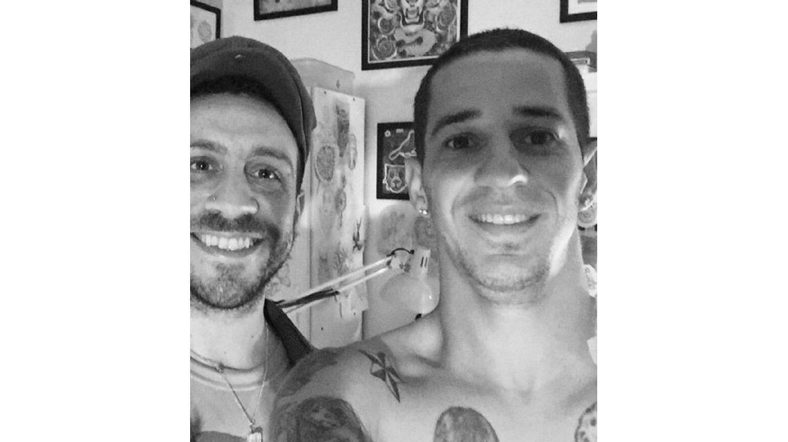 Final feliz: arreglaron el tatuaje con números romanos del Pipi Romagnoli