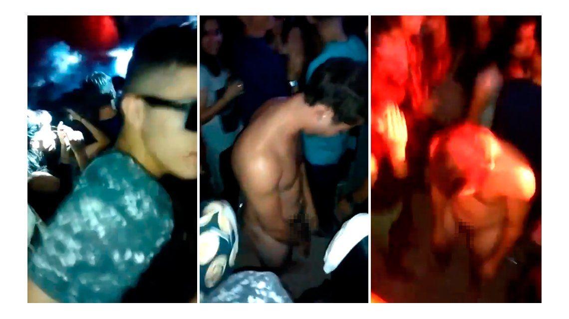 Locura química: parado y desnudo en medio de la pista de baile