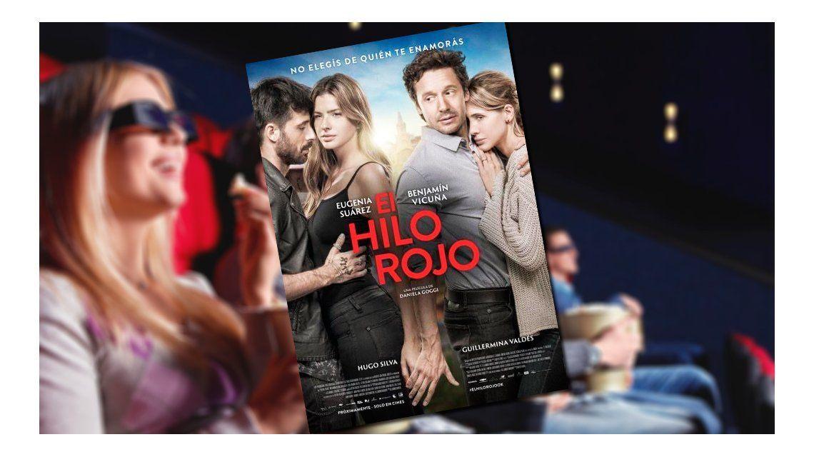 No elegís de quién te enamorás: mirá el póster oficial de El Hilo Rojo con la China Suárez y Benjamín Vicuña