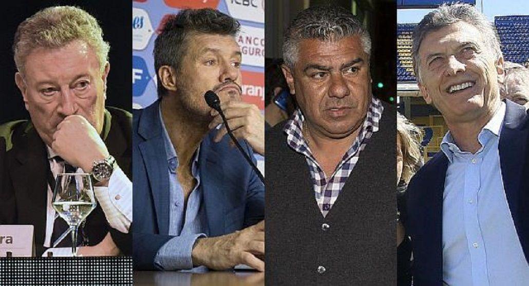 Cisma en el fútbol: clubes grandes quieren una Liga sin AFA y Gobierno amaga con intervención