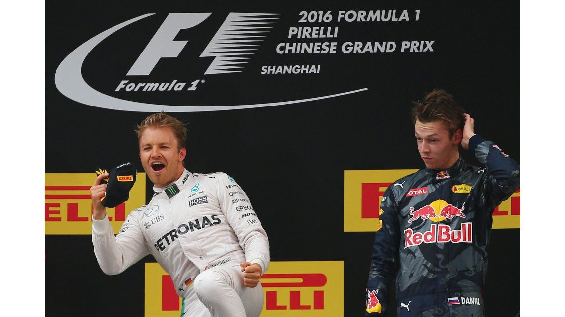 De punta a punta: Nico Rosberg se quedó con el Gran Premio de China