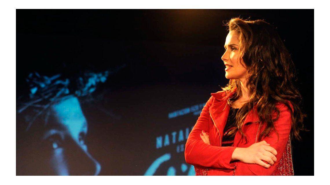 El impresionante cambio de look de Natalia Oreiro para la película sobre Gilda