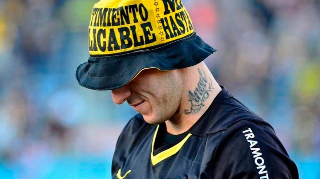 Siempre polémico: Migliore, junto a la barra brava de Peñarol por Copa Libertadores