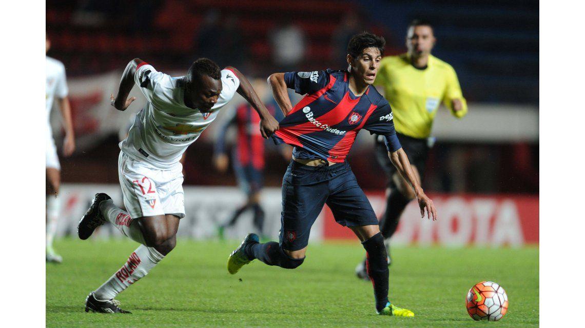 San Lorenzo se despidió de la Libertadores con un empate frente a la Liga