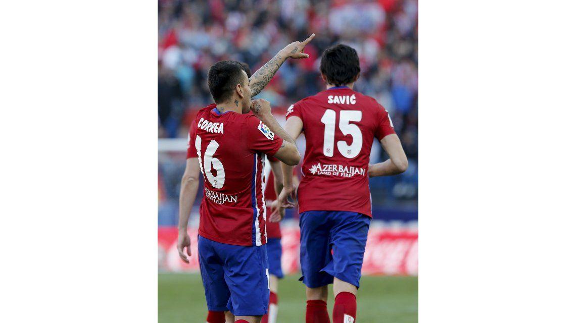Correa es el mejor suplente de la Liga española y lo comparan con Agüero